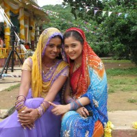 A still image of Sadhna and Ragini