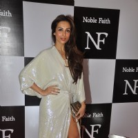 Malaika Arora Khan poses for the media at the Birthday Bash cum Launch