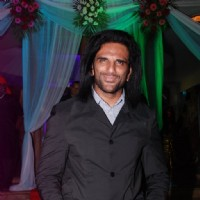 Arav Choudhary was seen at the Success Bash of Mahabharat