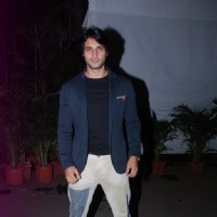 Aham Sharma at the Success Bash of Mahabharat