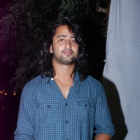 Shaheer Sheikh at the Success Bash of Mahabharat