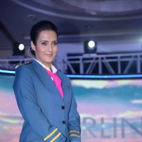 Tulip Joshi at the launch of Airlines - Har Udaan Ek Toofan