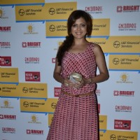 Drashti Dhami poses for the media at Shaan's Live Concert