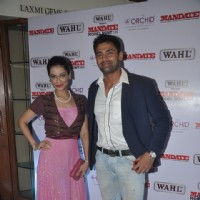 Payal Rohatgi and Sangram Singh at Mandate Model Hunt 2014