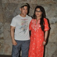 Aamir Khan and Rani Mukherjee at the Special Screening of Mardaani