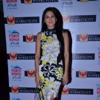 Aanchal Kumar poses for the camera at Power Women Fiesta