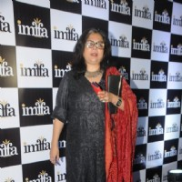 Reema Lagoo poses for the media  at IMFAA