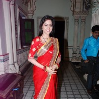 Deepika Singh poses at the Celebration of the Completion of 3 Years of Diya Aur Baati Hum