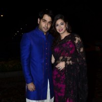 Vahbbiz Dorabjee and Vivian Dsena were at Nikitan Dheer and Kratika Sengar's Wedding Reception