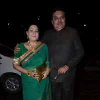 Raza Murad and his wife were at Nikitan Dheer and Kratika Sengar's Wedding Reception