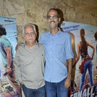 Ramesh Sippy and Rohan Sippy at the Trailer Launch of Sonali Cable