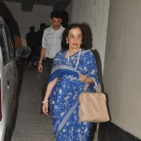 Asha Parekh at the Screening of Mary Kom