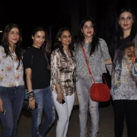Malaika Arora Khan with her fans at the Screening of Finding Fanny