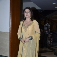 Kunickaa poses for the media at the Talk Show Launch 'Apnaa Ilaaj Apne Haath