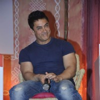 Aamir Khan snapped at Aaj Tak Panchayat Talk Show