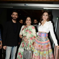Sonam Kapoor, Fawad Khan and Kirron Kher at the Promotions of Khoobsurat