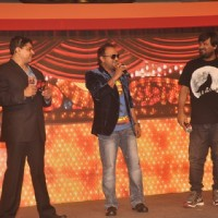 Cyrus Broacha, Sajid Ali and Wajid Ali at the Promotion of Haider