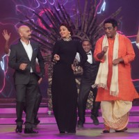 The judges perform at the Grand Finale of India's Best Cine Stars Ki Khoj