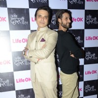 Harsh Chhaya and Apurva Agnihotri at the Press Conference of Ajeeb Dastaan Hai Ye