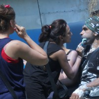 Soni Singh performs a task on Bigg Boss 8