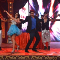 Bruna and Abhishek perform at the Grand Opening Comedy Classes