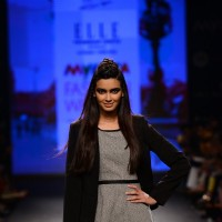 Diana Penty walks the ramp for Elle at Myntra Fashion Week Day 3