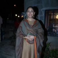 Deepti Naval was at the Rang Rasiya Fashion Promotions