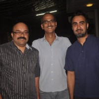 Rohan Sippy and Ranvir Shorey poses for the media at the Special Screening of Sonali Cable