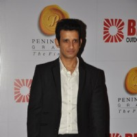 Sharman Joshi at the Bright Outdoor Advertising Party