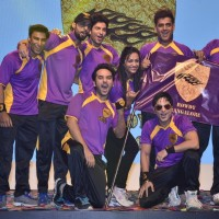 Team Rowdy Banglore at the BCL Press Conference