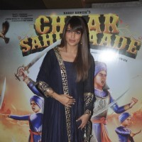 Bipasha Basu poses for the media at the Trailer Launch of Chaar Sahibzaade