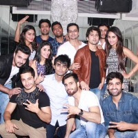 Team Mumbai Warrior's Surprise Bash