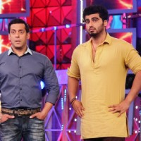 Arjun Kapoor and Salman Khan on Bigg Boss 8
