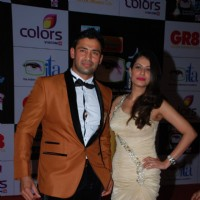 Sangram Singh & Payal Rohatgi at the ITA Awards 2014