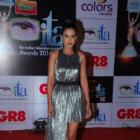 Nia Sharma was at the ITA Awards 2014