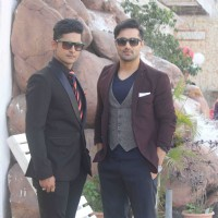 Vishal Karwal with Ravi Dubey