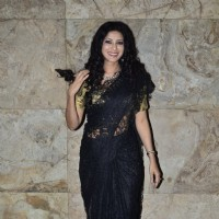 Nandana Sen poses for the media at the Special Screening of Rang Rasiya