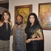 Ketan Mehta and Nandana Sen at the Inauguration Raja Ravi Verma's Collection of Life and Work