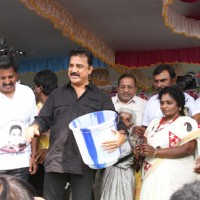 Kamal Haasan was at the Launch of Lake Cleaning Movement as a Part of the Clean India Campaign