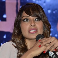 Bipasha Basu addressing the media at the Launch of Vikram Phadnis's New Film 'Nia'