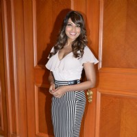 Bipasha Basu poses for the media at the Launch of Vikram Phadnis's New Film 'Nia'