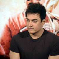 Aamir Khan snapped at the Song Launch of P.K.
