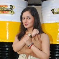 Rashmi Desai poses for the media at the Launch of Khatron Ke Khiladi - Darr Ka Blockbuster Return