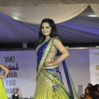 Giaa Manek walks the ramp at Wellingkar's 26/11 Tribute