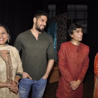 Sidharth Malhotra was snapped at the Premier of Ashvin Gidwani's Show Blame it on Yashraj