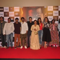 Team poses for the media at the Trailer Launch of Badlapur