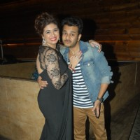 Jay Soni poses with Vahbbiz Dorabjee Dsena at her Birthday Bash
