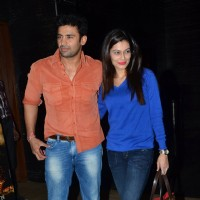Sangram Singh and Payal Rohatgi at the Premier of Bhopal: A Prayer for Rain
