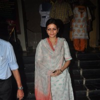Prachee Shah Pandya was snapped at Sitara Devi's Prayer Meet