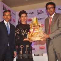 Priyanka Chopra felicitated at the Launch of the New Edition of the Filmfare Awards